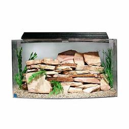 SeaClear 46 gal Bowfront Acrylic Aquarium Combo Set, 36 by 1