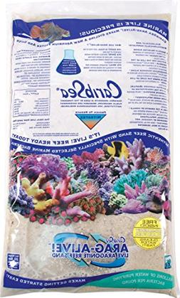 CaribSea Arag-Alive 20-Pound Special Grade Reef Sand, Bimini