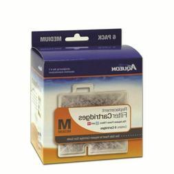 Aqueon Cartridge 6pack Medium for QuietFlow Led 10, Powerfil