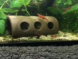 Ceramic Cave Breeding Hide Decoration Fish Tank Aquarium Hal