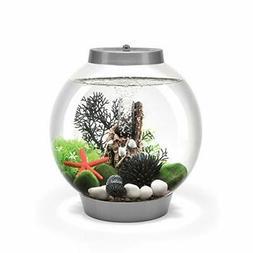 biOrb Classic 15 Aquarium with MCR - 4 Gallon Silver