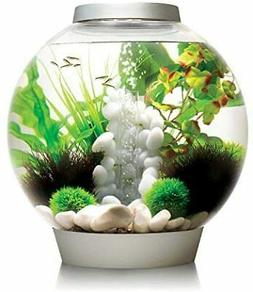 biOrb CLASSIC 30 Aquarium with LED Light - 8 Gallon, Silver