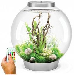 BiOrb Classic 105 Liter Silver Aquarium with MCR Lighting
