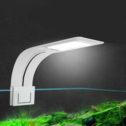 Clip on Aquarium LED Light, Fish Tank Clamp Lamp Small Nano