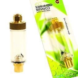 Aquarium Equip Co2 Bubble Counter w/check valve for Regulato