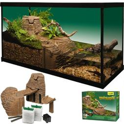 Complete Reptile Decoration Kit Fits 20 to 55 Gallon Tanks A