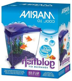 MARINA COOL GOLDFISH KIT MEDIUM 2.65 GALLON, PURPLE - NEW IN