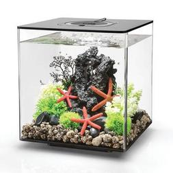 biOrb Cube 30 Aquarium with Led Light - 8 Gallon, Black