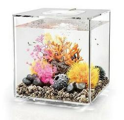 biOrb Cube 30 Aquarium with LED Light - 8 Gallon, Transparen