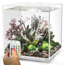 biOrb Cube 60 Aquarium with MCR Light - 16 Gallon, White