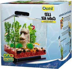 Tetra Cube Aquarium Kit with LED Light 3-Gallon, FREE SHIPPI