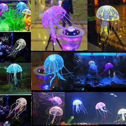 Decor Jellyfish Aquarium Decoration Artificial Glowing Effec