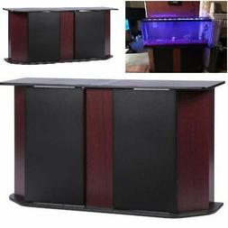 Deluxe 55 Gallon Aquarium Stand Storage Cabinet Fish Tank Ho