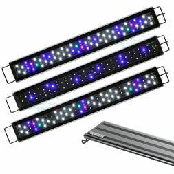 AQUANEAT Dimmable LED Aquarium Light Full Spectrum 3 Modes f