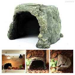 eb41 aquarium reptile hide cave creative resin
