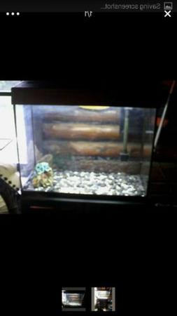 Marineland Eclipse 3 Fish Tank Aquarium 29 Gallon  Flow Hood