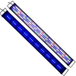 """Zeiger Eco 48"""" Full Spectrum Multi-Color 153 LED Aquarium Li"""