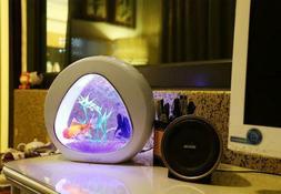 Baojie Ecology Mini Nano Fish Tank Aquarium with Built-in Fi