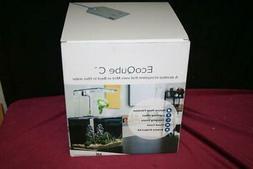 EcoQubeC Aquarium - Desktop Betta Fish Tank For Living Offic