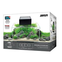 Fluval Edge 2.0 6 gallon Aquarium Gloss Black