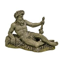 Blue Ribbon EE-5663 Large Neptune Statue Exotic Environments