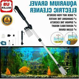 Electric Gravel Cleaner Aquarium Fish Tank Automatic Siphon