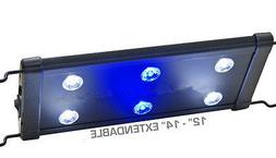 EVO 12 LED Aquarium Light Nano Marine Coral Reef Cichlid 6x