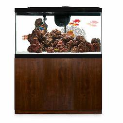 Imagitarium Faux Woodgrain Fish Tank Stand, Up to 55 Gal, 14
