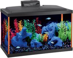 fish aquarium starter kits led neoglow includes