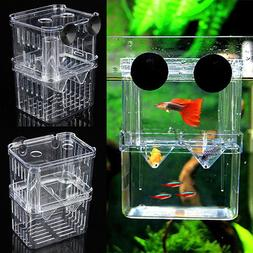Fish Breeding Aquarium Box Tank Isolation Incubator Hatchery