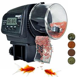 Automatic Fish Food Aquarium Tank Pond Everyday Feeder Dispe