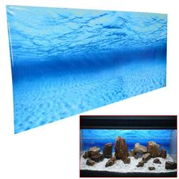 Fish Tank Background Poster Blue Sea Ocean Picture Wall Deco