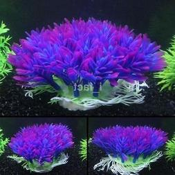 Fish Tank Aquarium Decor Accessories Artificial Water Plant