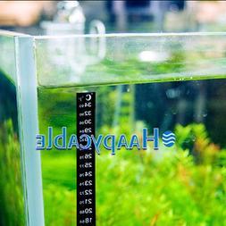 New Fish Tank Aquarium Thermometer Temperature °F Fahrenhei