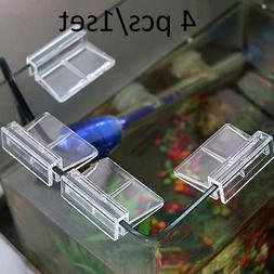 Fish Tank Holder Aquarium Clips Aquatic Pet Fish Acrylic Gla