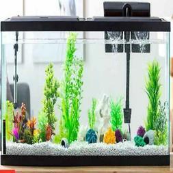 Fish Tank Hood LED Light Fresh Salt Water Aquarium Pet Fishi