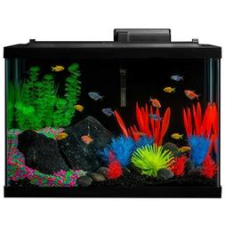 GloFish Fish Tank Kit, Includes LED Lighting and Decor