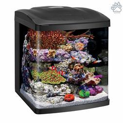 Coralife Fish Tank LED BIOCUBE Coral Aquarium Starter Marine