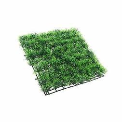 UEETEK Fish Tank Square Artificial Grass Lawn Aquarium Fake