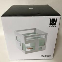 Umbra Fishhotel Glass and ABS Plastic Fish Aquarium  460410-
