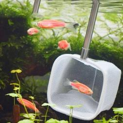 fishing tank net retractable round square fish
