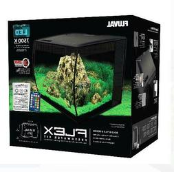 Fluval FLEX 15-Gallon Aquarium Kit, Black,  Freeshipping