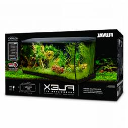 FLUVAL FLEX AQUARIUM KIT, 123 L , BLACK