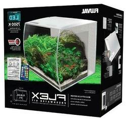 Fluval Flex LED Freshwater Kit White 15 Gallon