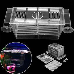 Floating Aquarium Fish Breeding Tank Breeder Box Fry Trap Ha