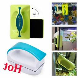 Floating Magnet Aquarium Cleaner Fish Tank Glass Cleaning Al