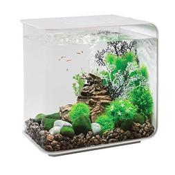 FLOW 30 Aquarium with LED Light - 8 gallon, white