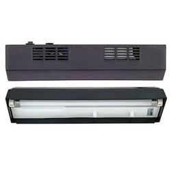 "Aqueon Fluorescent 20"" Single Tube Black Strip Light"