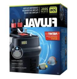 FLUVAL 206 CANISTER FILTER Fresh or Saltwater Filtration 45