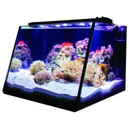 Full View Angled Fish/Pet Aquarium Tank 5 Gallon Modern Kit